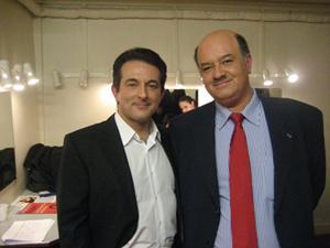 Avec Alain BAUER