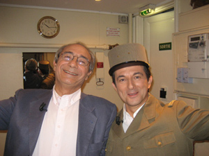 Avec Bernard DEBRE
