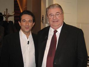 Avec Daniel VAILLANT