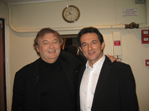Avec Dominique BESNEHARD