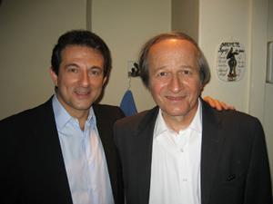 Avec Roger-Gérard SCHWARTZENBERG