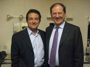 Avec Hervé NOVELLI