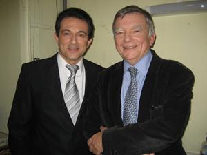 Avec Jean GLAVANY