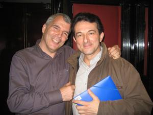 Avec le réalisateur Jean-Louis MACHU
