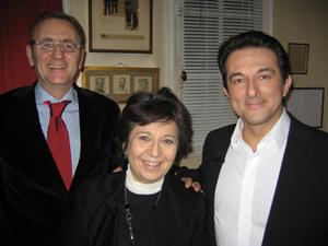 Avec Corinne LEPAGE et André VALLINI
