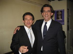 Avec Luc FERRY