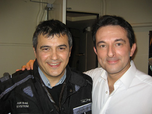 Avec Patrick PELLOUX