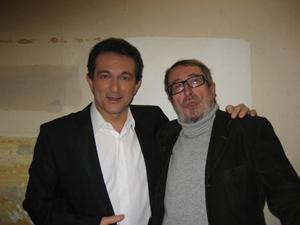Avec Patrick RAMBAUD