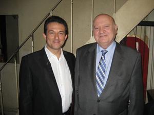Avec André SANTINI