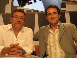 Avec notre réalisateur actuel Bruno HULLIN