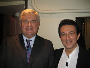Avec Eric RAOULT