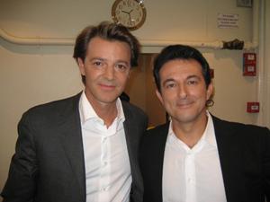 Avec François BAROUIN