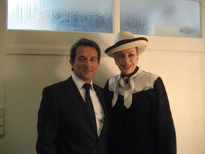 Avec Geneviève DE FONTENAY