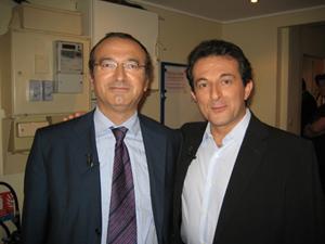 Avec Hervé MARITON
