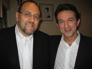 Avec Julien DRAY