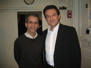 Avec Malek BOUTIH