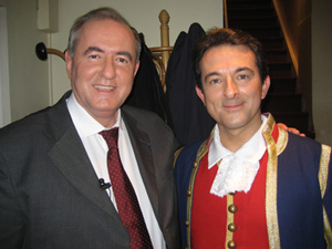 Avec Maurice LEROY