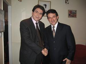 Avec Pierre LELLOUCHE