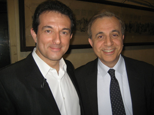 Avec Roger KAROUTCHI