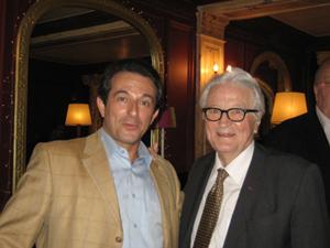 Avec Roland DUMAS